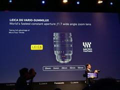 首款恒定光圈F1.7广角变焦 松下宣布LEICA 10-25mm F1.7镜头