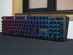 德国Cherry MX轴 影驰星极XANOVA磁爆 XK700 RGB键盘评测