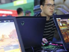 炫酷灯光强大性能 Alienware助力ChinaJoy游戏生态