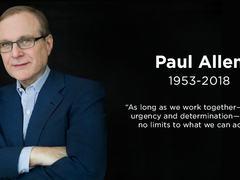 比尔·盖茨痛失战友,微软联合创始人保罗·艾伦因病逝世