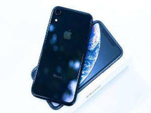 细节很美 微距镜头下的蓝色iPhoneXR 细节