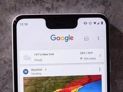 谷歌推出Pixel 3/3xl  前置800万像素双摄