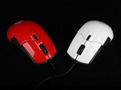 专属中国玩家 红白两款赛睿Sensei 310 游戏鼠标图赏