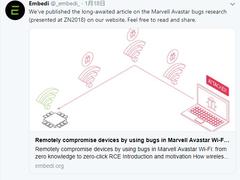 波及PS4、XB1、Surface等62亿台设备的Wi-Fi安全漏洞被发现