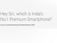 一加获2018年印度高端手机销量冠军 发推嘲笑苹果以庆祝