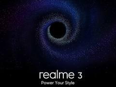 又一千元机Realme 3将发布:Helio P70/P60+4800万像素