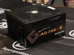 美商艾湃AG-750M电源今日强势登场:399元750W金牌全模组