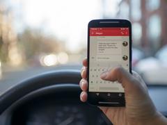 開車玩手機很危險!貝克漢姆已被禁駕半年