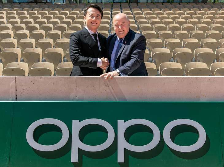 OPPO签约法国网球公开赛,致力塑造体育营销行业新典范