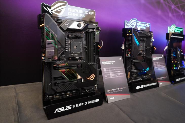 为第三代锐龙而生 华硕全系列X570主板新品亮相COMPUTEX