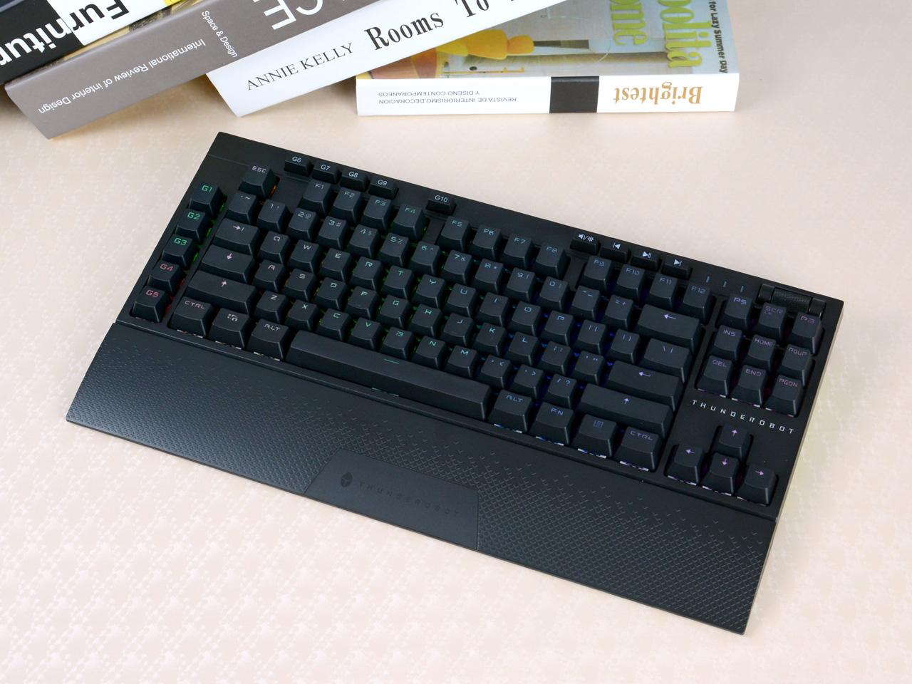 指尖下的超实惠游戏利器!雷神KL30无线机械键盘评测