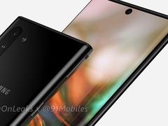 三星Galaxy Note 10即将发布,但在韩国只售5G版本