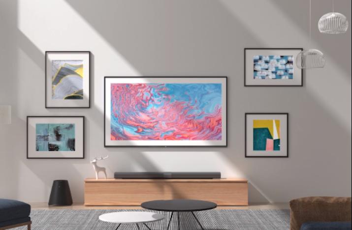 """彩电的艺术之路,小米壁画电视让美与实用""""隐""""在家中"""