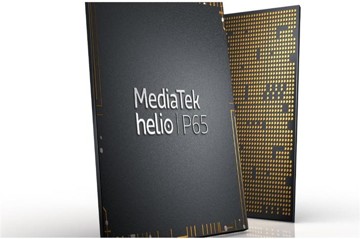 联发科发布 Helio P65:采用12nm制程工艺 游戏与拍照体验升级