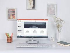 为桌面摆上一件实用的装饰品,让海兰Q40点缀你的精致办公环境