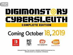 《数码宝贝:赛博侦探》完整版将于10月18日开售