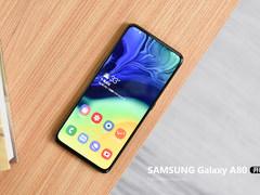 三星Galaxy A80开箱:93.8%屏占比/不止惊艳