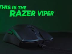 仅相当于一枚鸡蛋重,雷蛇发布轻量化旗舰Razer Viper鼠标