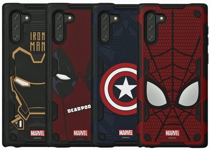 漫威迷们看过来!三星将推出Galaxy Note 10系列的英雄保护壳