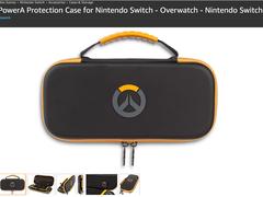 《守望先锋》也要登录Switch平台了?暴雪官方授权NS收纳包现身亚马逊