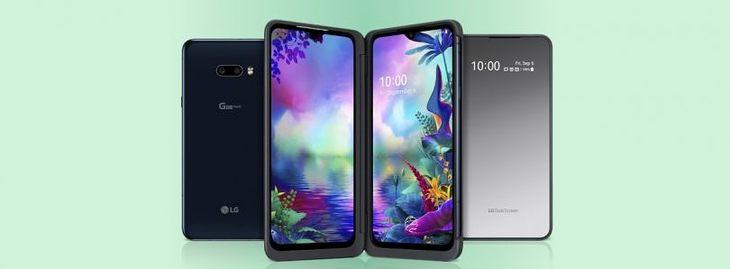 上海迪士尼攻略_LG推出第2款可折叠设施 带有双屏幕配件的G8X ThinQ智能手机