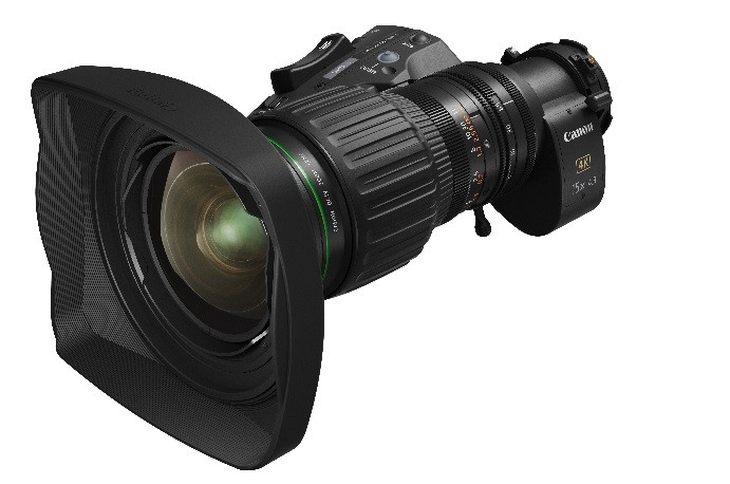 15倍光学变焦范围 佳能发布便携式4K广播级变焦镜头