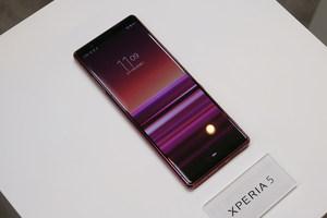 时尚小巧黑科技加持 索尼Xperia 5实拍