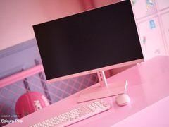 粉色当道!onebot 新款粉色一体机桌面新风景
