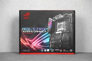 完美适配全新酷睿X处理器ROG STRIX X299-E GAMING II图赏