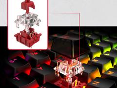 自有轴体炫彩登场——HyperX起源RGB游戏机械键盘