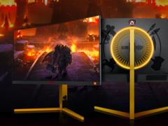 AGON魔兽争霸III定制版电竞显示器重燃信仰,晒单赢伊利丹手办