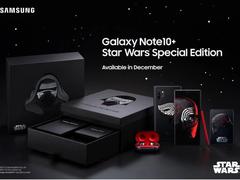 """12月独宠""""星战迷"""":三星推出Galaxy Note 10+星球大战特别版"""