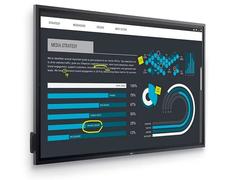 85吋的4K触控显示屏:戴尔推多款显示器新品