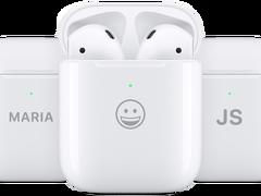 苹果突然更新!AirPods可支持激光镌刻表情符号,十二生肖也能刻