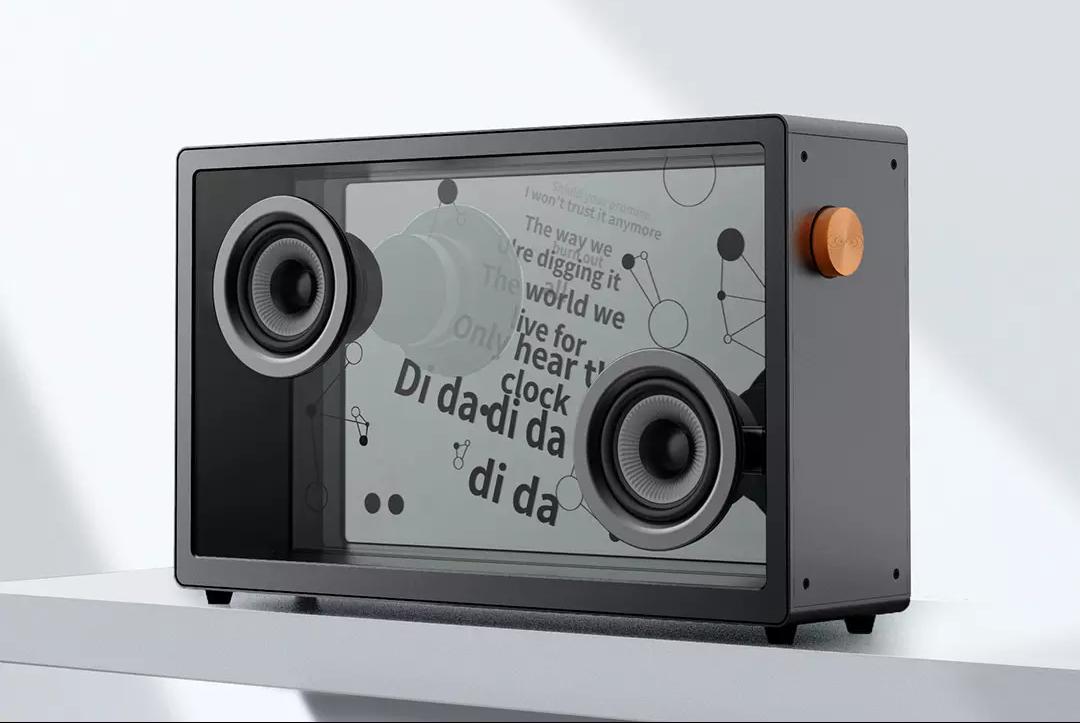 能悬浮歌词的透明音箱!小米众筹新品上线,2999元