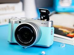 适合拍vlog的人气相机 富士X-A7套机售价4599元