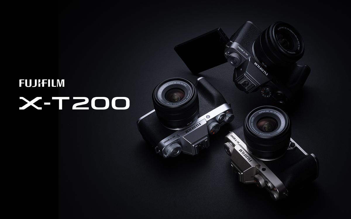 2420万像素8幅/秒连拍速度 富士推出全新轻便型无反X-T200
