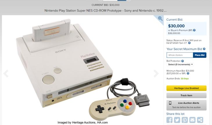 任天堂PlayStation?十分罕贵,拍卖已上3万美元