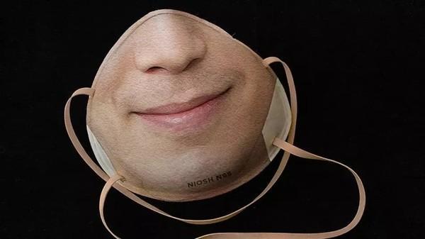 有点吓人!老外发明一款带有面部信息的口罩,可解锁iPhone