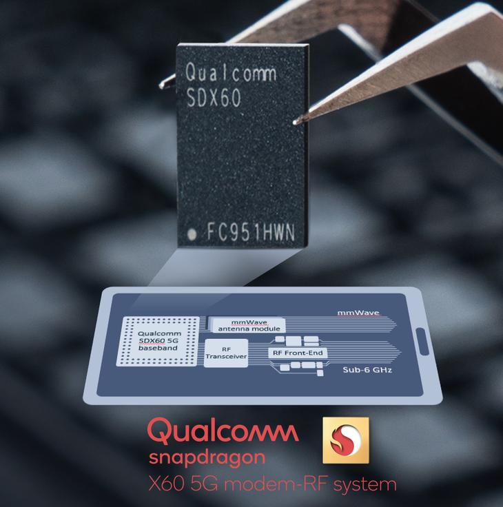 全球首个5纳米5G基带 Qualcomm推出第三代5G调制解调器X60