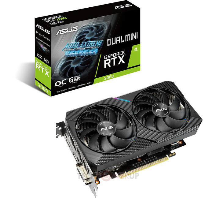 华硕推出GeForce RTX 2060 DUAL Mini显卡