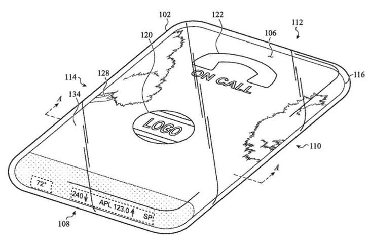 苹果欲打造一款全玻璃iPhone,整个机身都是显示屏