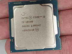 英特尔酷睿i5-10400处理器实拍图曝光