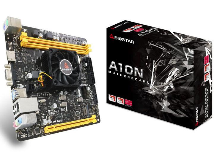 集成AMD四核处理器 映泰推出A10N-9630E主板