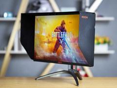 爱攻AG273QXP评测:特别配有遮光罩的165Hz高端电竞显示器