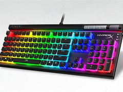 HyperX新键盘上架 999元配自研红轴