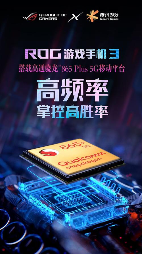 率先搭载骁龙865 Plus ROG游戏手机3高能释放