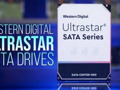 西数发布企业级硬盘新品 最大容量可达20TB