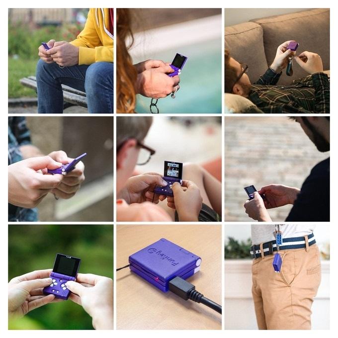 最小掌机FunKey S开启众筹 比手掌还要小