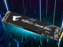 AORUS发布PCIE4.0固态硬盘 最大2TB